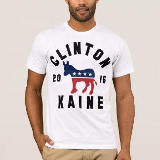 Retro Hillary Clinton Tim Kaine 2016 T Shirt