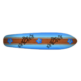 Retro Honu Surfboard 20.6 Cm Skateboard Deck