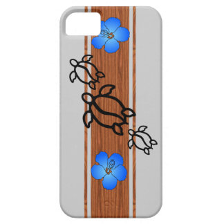 Retro Honu Surfboard Barely There iPhone 5 Case