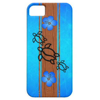 Retro Honu Surfboard Case For The iPhone 5