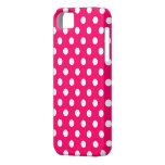 Retro Hot Pink Polka Dots iPhone 5s Case iPhone 5 Cases