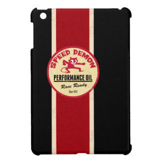 Retro Hot Rod Racing mini iPad case