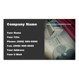 Retro hotel room pack of standard business cards