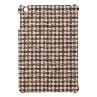 Retro houndstooth pattern iPad mini covers