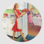 Retro Housewife on Thanksgiving