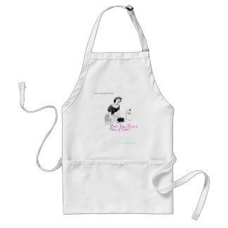 Retro Housewife Says: Won't You Have a Piece of Ca Standard Apron