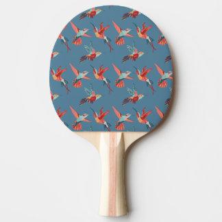 Retro Hummingbird Pattern