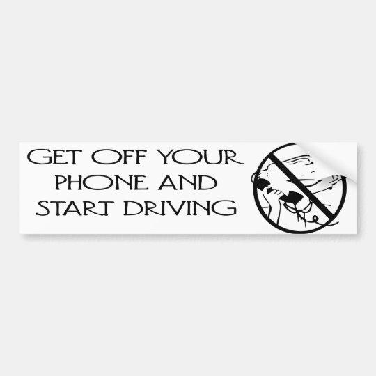 Retro Humour Bumper Sticker
