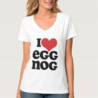 Retro I Love Eggnog T-Shirt