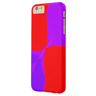 Retro Image 1 Purple & Red Barely There iPhone 6 Plus Case