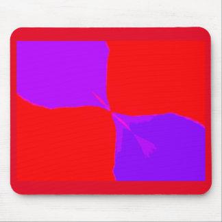 Retro Image 1 Purple & Red Original Mousepad