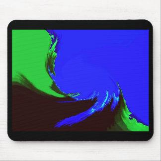 Retro Image 2 Black & Green Original Mousemat