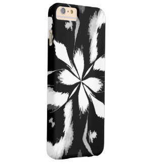 Retro Image 4 Black & White Barely There iPhone 6 Plus Case