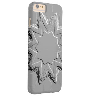 Retro Image 6 Grey Silver Barely There iPhone 6 Plus Case