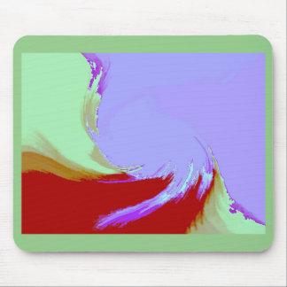 Retro Image 7 Lilac & Green Original Mousepad