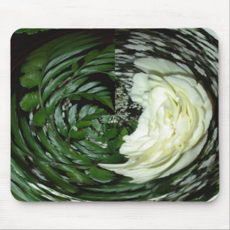 Retro Image 9 White & Green Original Mousepad