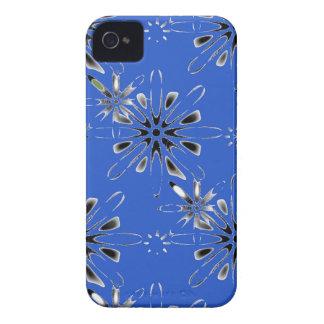 Retro in Blue iPhone 4 Case-Mate Case