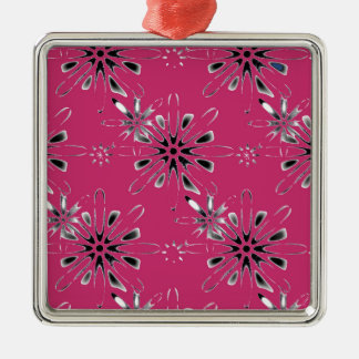 Retro in PInk Christmas Ornament