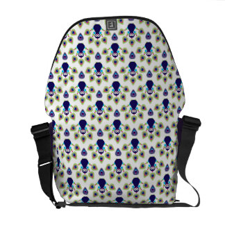 retro india exotic peacock commuter bag