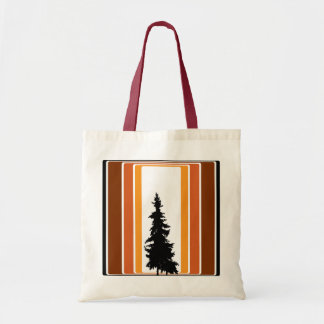Retro Inspired Tree Tote