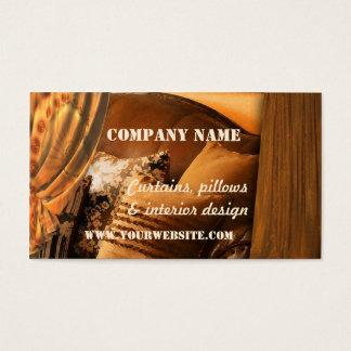Retro Interior Design Business Card
