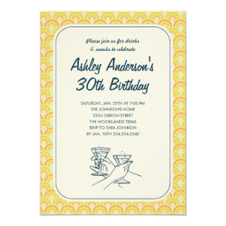 Retro Invitations