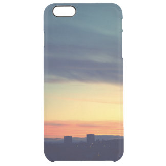 Retro iPhone 6/6s Clearly™ case with sunset