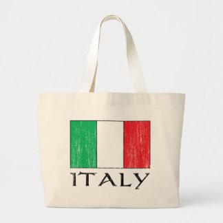 Retro Italy Flag totebag Bag
