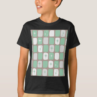 Retro Jade Starbursts Kids' T-Shirt