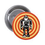 Retro Japanese Robot 6 Cm Round Badge