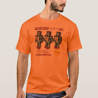 Retro Japanese Toy Robot Advertisement T-Shirt