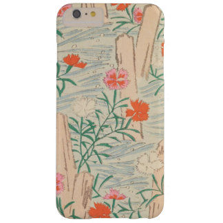 Retro Japanese Wildflower Motif Barely There iPhone 6 Plus Case