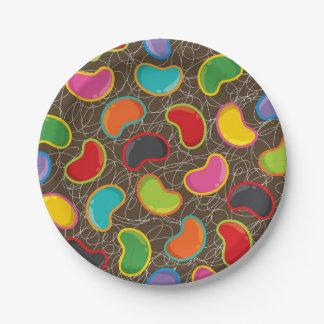 Retro Jellybeans Pop Birthday Party Paper Plates