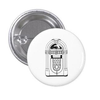 Retro Jukebox 3 Cm Round Badge