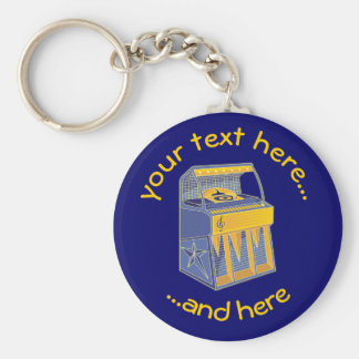 Retro Jukebox Key Ring