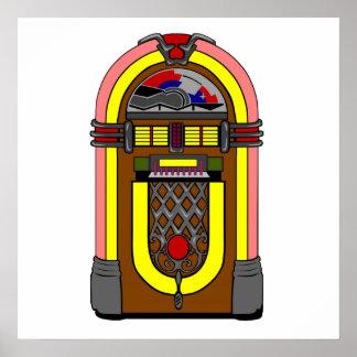 Retro Jukebox Poster