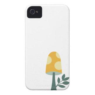 Retro kawaii cute magic mushroom design Case-Mate iPhone 4 case