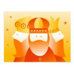 Retro Kings Postcard
