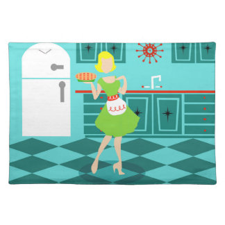 Retro Kitchen Cloth Placemat