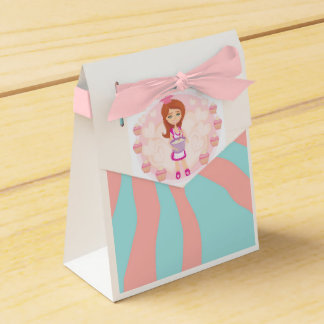 Retro kitchen Girl Favour Box