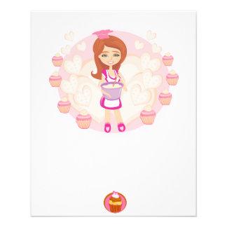 Retro kitchen Girl Flyer