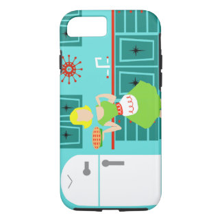 Retro Kitchen iPhone 7 Case