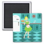 Retro Kitchen Magnet