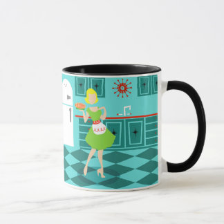 Retro Kitchen Mug