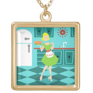 Retro Kitchen Necklace