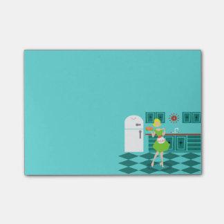 Retro Kitchen Post-It Notes