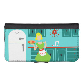 Retro Kitchen Smartphone Wallet Case