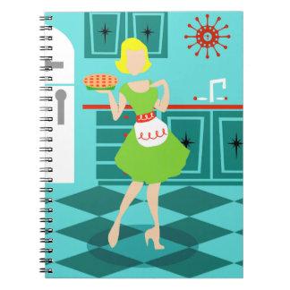 Retro Kitchen Spiral Notebook