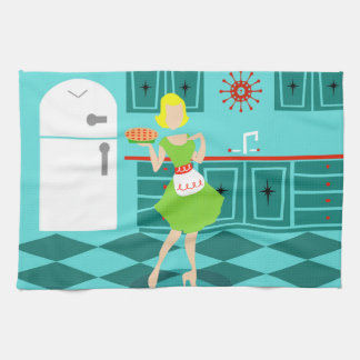 Retro Kitchen Towels