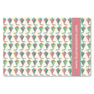 Retro Kite Pattern Tissue Paper